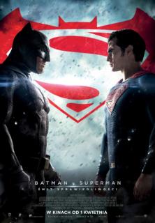 Batman v Superman Świt sprawiedliwości - plakat
