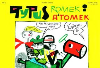 Tytus, Romek i A'Tomek. Księga II: Tytus otrzymuje prawko jazdy - okładka