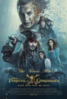 Piraci z Karaibów: Zemsta Salazara - plakat