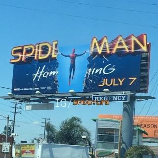 Spider-Man: Homecoming - billboard