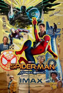 Spider-Man: Homecoming - plakat IMAX