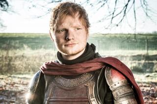 Ed Sheeran w serialu Gra o tron - zdjęcie z odcinka