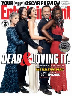 The Walking Dead 8. sezon - okładka Entertainment Weekly