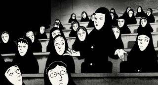 Persepolis (2007) - nominacja w kategorii Najlepszy długometrażowy film animowany