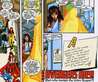 Najdziwniejsze momenty komiksowych Mścicieli - Hawkeye zostawia notatki na lodówce