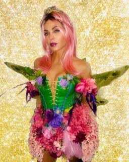 Jenna Dewan jako halloweenowa wróżka