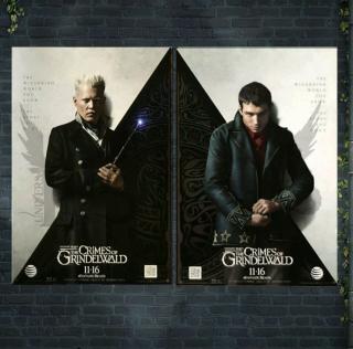 Fantastyczne zwierzęta: Zbrodnie Grindelwalda - plakat