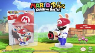 Mario + Rabbids: Kingdom Battle - figurka Rabbid Mario - cena 21,22 zł