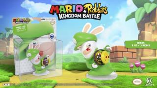 Mario + Rabbids: Kingdom Battle - figurka Rabbid Luigi - cena 21,22 zł