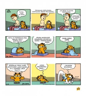 Garfield. Tłusty koci trójpak. Tom 2 - plansza