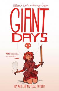 Giant Days #05. Jak nie teraz, to kiedy - okładka