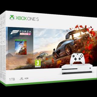 Konsola Xbox One S z dyskiem twardym 1TB i grą Forza Horizon 4 – 999 z