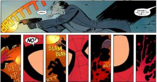Wmówienie Spider-Manowi, że jest seryjnym mordercą - w trakcie wypuszczania sieci Peter doświadczył wizji, w której sama sieć zamieniła się w kule, a te odebrały życie wielu osobom w pobliżu