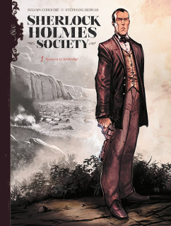 Sherlock Holmes Society. Przygoda w Keelodge, tom 1 – okładka