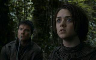Maisie Williams w 3. sezonie Gry o tron