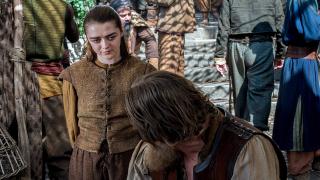 Maisie Williams w 6. sezonie Gry o tron