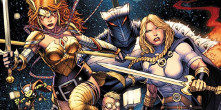 """Thor witając się ze Strażnikami Galaktyki mówi o """"Asgardians of the Galaxy"""", czym frustruje Star-Lorda. Fani Marvela wiedzą jednak, że """"Asgardians of the Galaxy"""" to stosunkowo nowa drużyna herosów, w skład której wchodzą choćby Skurge, Frog Thor czy siostra boga burzy i piorunów, Angela."""