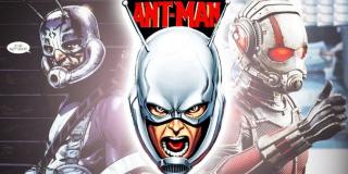 Ant-Man w filmie korzysta z niego innego modelu hełmu. Bardzo przypomina on ten, który w komiksach z lat 60. nosił Hank Pym.