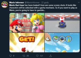 Mario Kart Tour - opinie o mikrotransakcjach w wersji beta