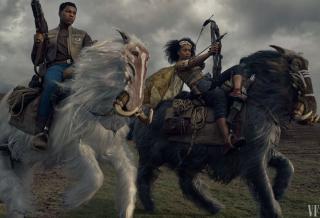 Gwiezdne Wojny: Skywalker. Odrodzenie - Finn i Jorah prowadzą wojska do bitwy na grzbietach Orbaków