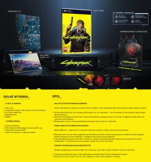 Cyberpunk 2077 - edycja standardowa