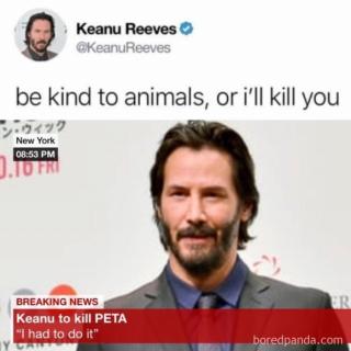 Keanu Reeves memy