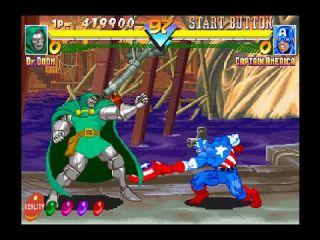 Marvel Super Heroes - automaty, Sega Saturn, PlayStation (1995)