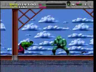 The Incredible Hulk - SNES, Genesis, Master System, Game Gear(1994)