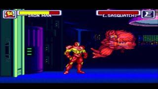 Marvel Super Heroes In War of the Gems - SNES (1995)
