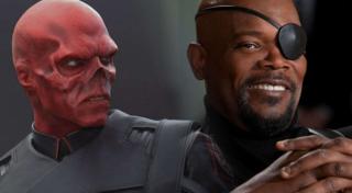Relatywnie mniej częste pojawianie się Nicka Fury'ego w ostatnich filmach MCU jest celowe – miałby on w ramach samodzielnej produkcji zmierzyć się z uwolnionym już z planety Vormir Red Skullem.