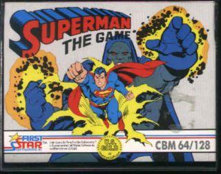 Superman: The Game - Commodore 64 (1985)