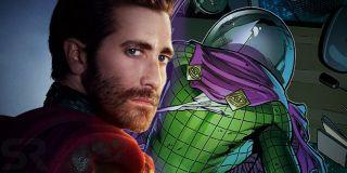 """Scena śmierci Mysterio w swoim przekazie nawiązuje do komiksowej serii """"Guardian Devil"""" – antagonista został pokonany przez Daredevila, a heros tłumaczy mu, że największą iluzją było jego życie. Mysterio sięga jednak po broń i popełnia samobójstwo twierdząc, że """"to także skradnie""""."""