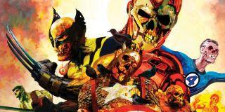 Wychodzący z grobu Iron Man, którego w wybudzonym przez Mysterio koszmarze widzi Peter, ma złamaną maskę, przez którą można dostrzec fragment jego czaszki. Dokładnie taki sam kadr widzieliśmy w komiksowym zeszycie Marvel Zombies #1 z 2006 roku, którego autorem był twórca Walking Dead, Robert Kirkman.