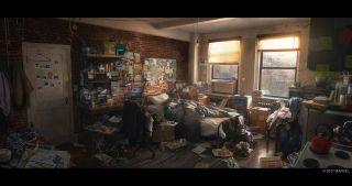Marvel' Spider-Man - szkice koncepyjne