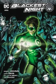 Green Lantern. Najczarniejsza noc - okładka