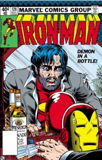 Tony Stark popada w alkoholizm (Demon in a bottle)