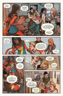 Ms. Marvel #06. II wojna domowa - plansza