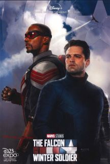 The Falcon and the Winter Soldier - plakat