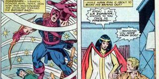 Phantom Rider gwałci Mockingbird (Lost in Space-Time)