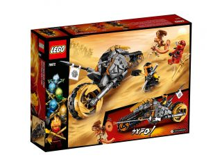 LEGO NINJAGO - Motocykl Cole'a