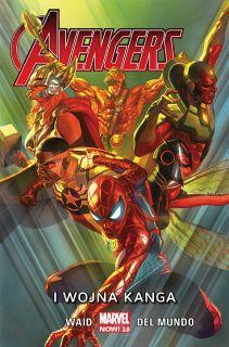 Avengers. I wojna Kanga, tom 4 - okładka