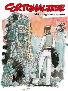 Corto Maltese. Mū – zaginione miasto, tom 12 - okładka