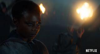 Fringilla Vigo (Mimi Ndiweni) -  nilfgaardzka czarodziejka zasiadająca w Loży. Walczyła po stronie Czarnych w bitwie o Sodden, gdzie oślepiła Yennefer.