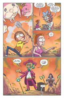 Rick i Morty. Tom 4 - plansza