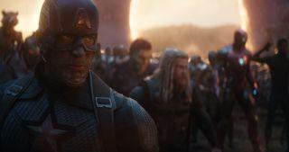 """Otwierające się portale w filmie """"Avengers: Koniec gry"""""""
