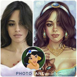 Camila Cabello jako Jasmina