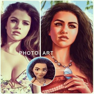 Selena Gomez jako Moana