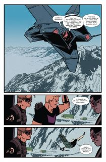 Hawkeye. Tom 2. Troje - plansza