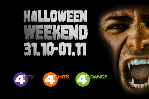 Weekend Halloween w 4FUN.TV i super konkurs
