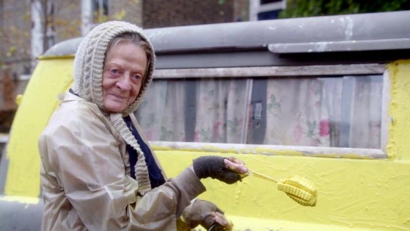 The Lady in the Van: zobacz zwiastun filmu z Maggie Smith